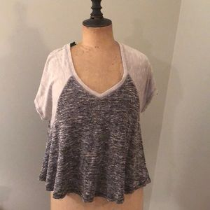 Free People baseball swing top